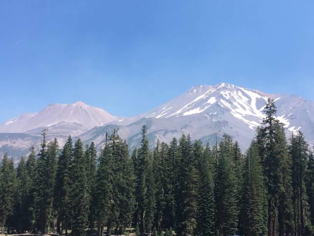 Mt Shasta July 2018